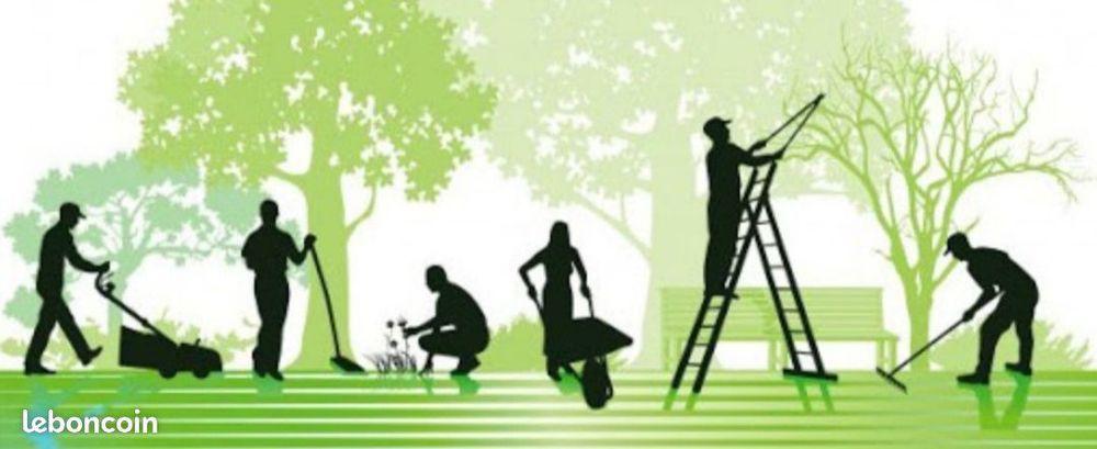 Taille, tonte, jardinage, transport à la décheterie....