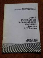 Notice d'utilisation  distributeur d'engrais NODET DTP 12 10290 Marcilly-le-hayer