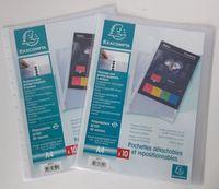 Pochettes A4 détachables et repositionnables (x20) 57070 Metz