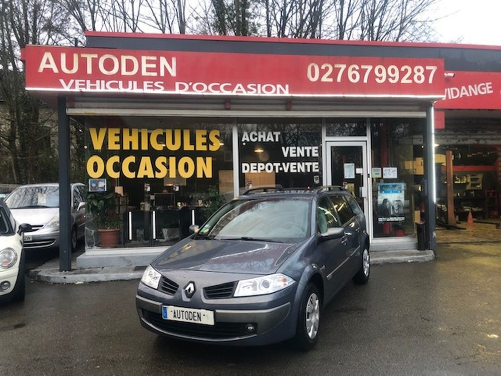 Mégane II (2)ESTATE 1.5 DCI 85 AUTHENTIQUE 2006 occasion 27140 Gisors