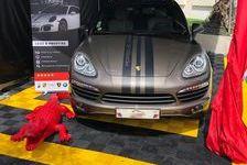 Porsche Cayenne 2012 - Marron - 3.0 v6 tdi fap - 245 - bva tip 27300 44500 La Baule-Escoublac