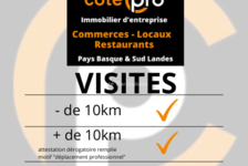 Local commercial - 355 m2 945000 64100 Bayonne