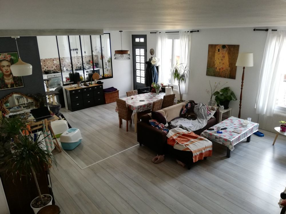 Vente Appartement SAINT-ETIENNE CARNOT BEAU DUPLEX DE 104M²  à Saint-Étienne