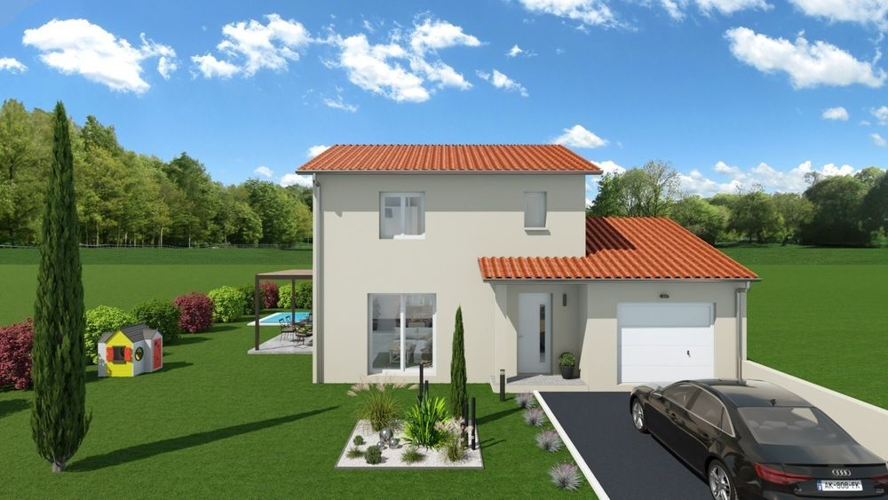 vente Maison - 4 pièce(s) - 94 m² Guéreins (01090)