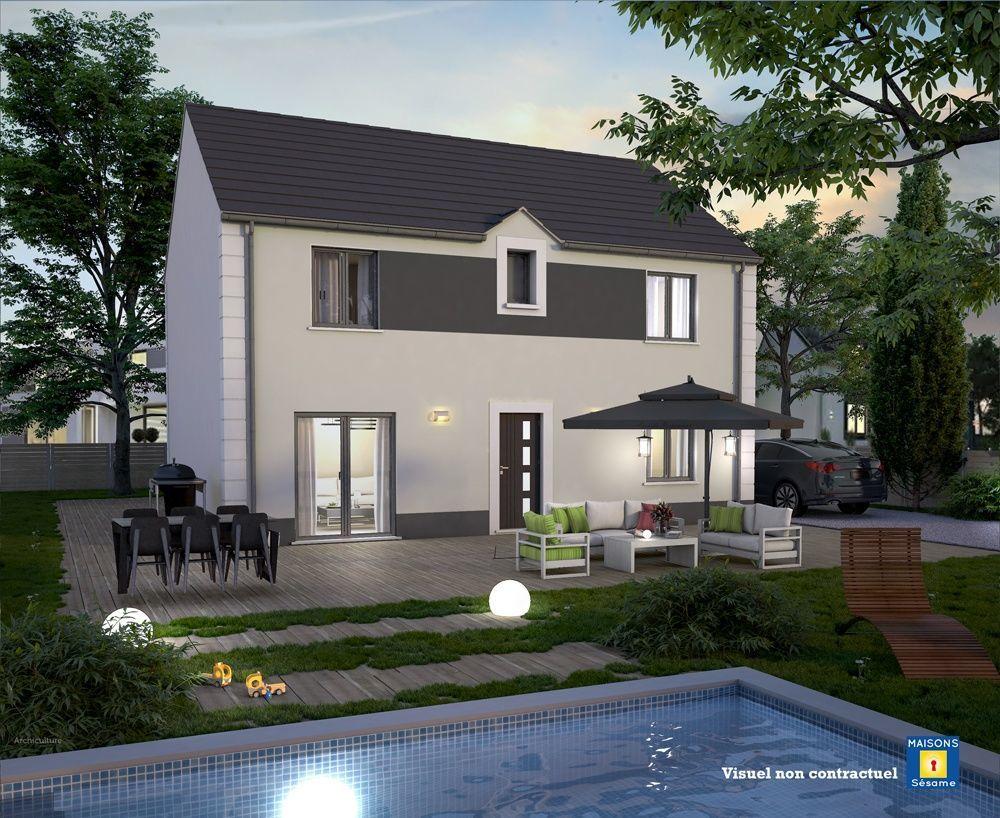 vente Maison - 6 pièce(s) - 100 m² Nangis (77370)