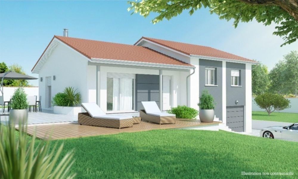 vente Maison - 5 pièce(s) - 120 m² Beaujeu (69430)