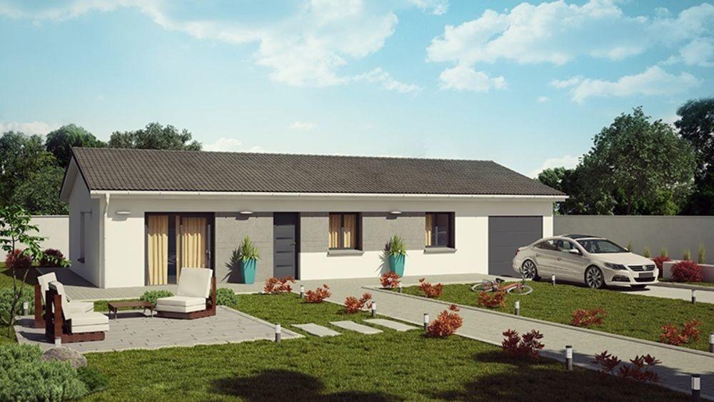 vente Maison - 4 pièce(s) - 95 m² Montrevel-en-Bresse (01340)