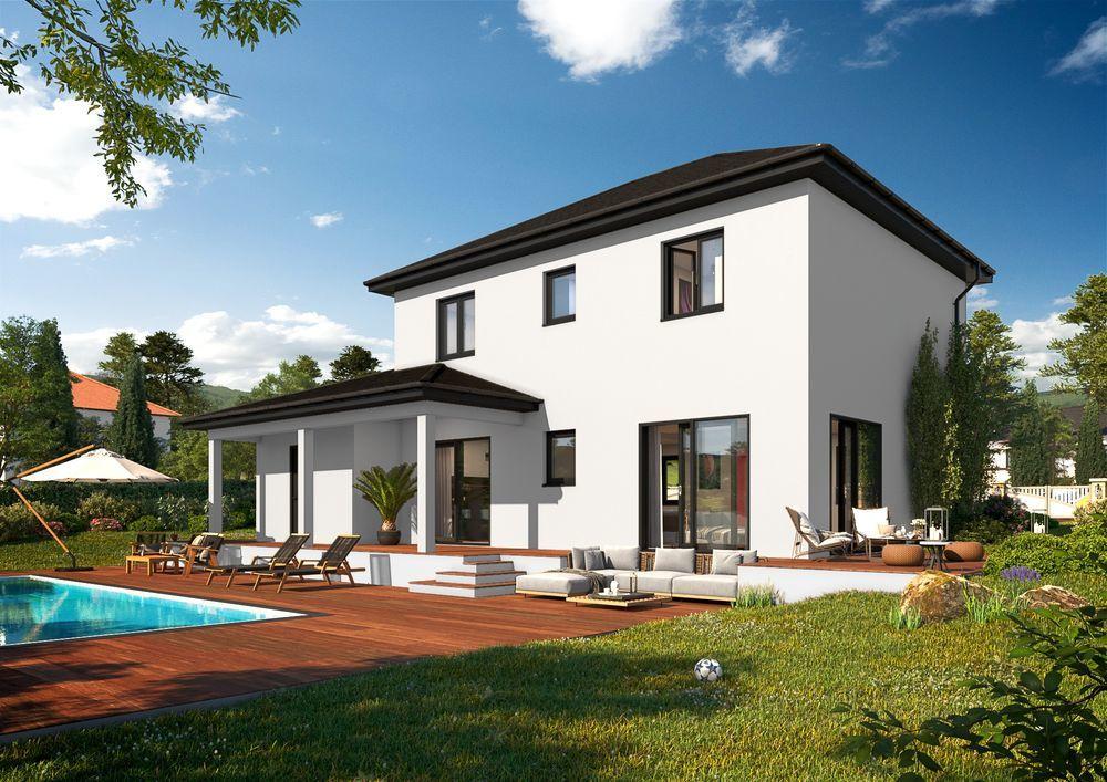 vente Maison - 4 pièce(s) - 112 m² Saint-Pierre-la-Palud (69210)
