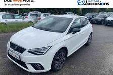 SEAT IBIZA 2017 - Blanc - Ibiza 1.0 EcoTSI 95 ch S/S BVM5 Xcellence 13900 01170 Cessy