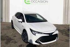 TOYOTA COROLLA HYBRIDE 2019 - Blanc - Corolla Hybride 122h Dynamic 23499 69190 Saint-Fons