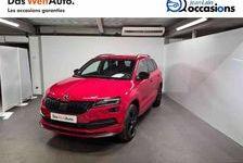 SKODA KAROQ 2020 - Rouge - Karoq 1.5 TSI 150 ch ACT DSG7 Sportline 30900 38500 Voiron