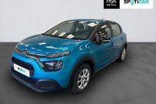 CITROEN C3 2020 - Bleu - C3 PureTech 83 S&S BVM5 Feel 15390 76120 Le Grand-Quevilly