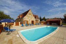 secteur sarlat/montignac - belle rénovation et état irréprochable pour grande maison familiale 5 chambres et piscine sur 2 hecta 469000 Sarlat-la-Canéda (24200)
