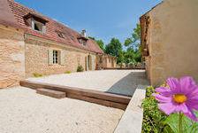 Aquitaine/Dordogne. Très belle longère en pierre entre Bergerac et Ste Alvère. 1 ha de terrain l'entoure. Aucune nuisance de 519000 Saint-Marcel-du-Périgord (24510)