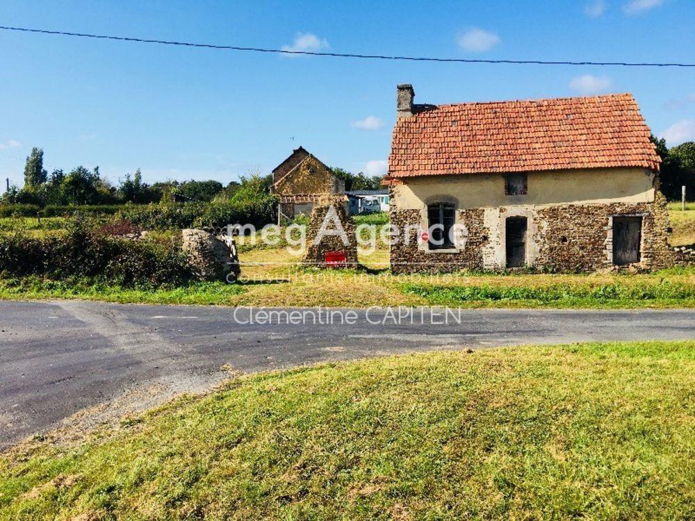 Vente Maison Ancienne Habitation à rénover sur grand terrain  à Saint-sauveur-le-vicomte