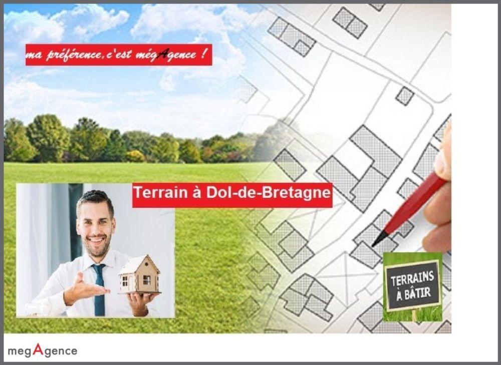 Vente Terrain TERRAIN LIBRE DE CONSTRUCTION 35120 DOL de Bretagne  à Dol-de-bretagne