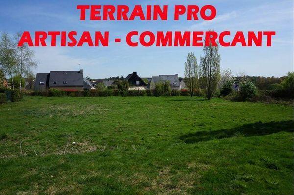 Vente Terrain Terrain constructible 2000m² spécial Pro  à Chateaubourg