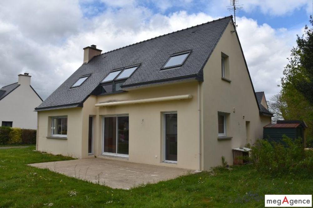 Vente Maison Ergué-Gabéric - Lestonan - Maison 6 Pièces 136 M2  à Ergue-gaberic