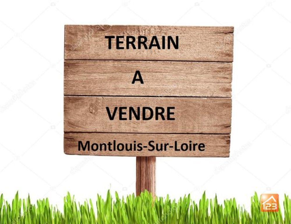 Vente Terrain Terrain - 479m2 - Montlouis-sur-Loire  à Montlouis-sur-loire