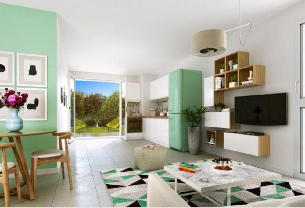 Vente Appartement Rez de chaussée Appt T3 de 61,95m²  à Miribel