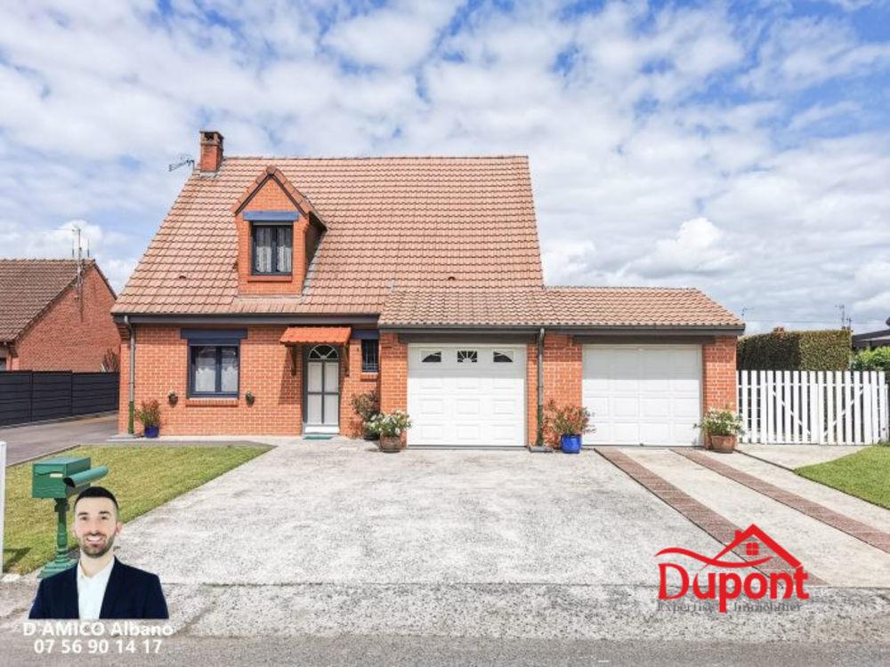 Vente Maison Maison individuelle 3 chambres avec garage et jardin  à Haulchin