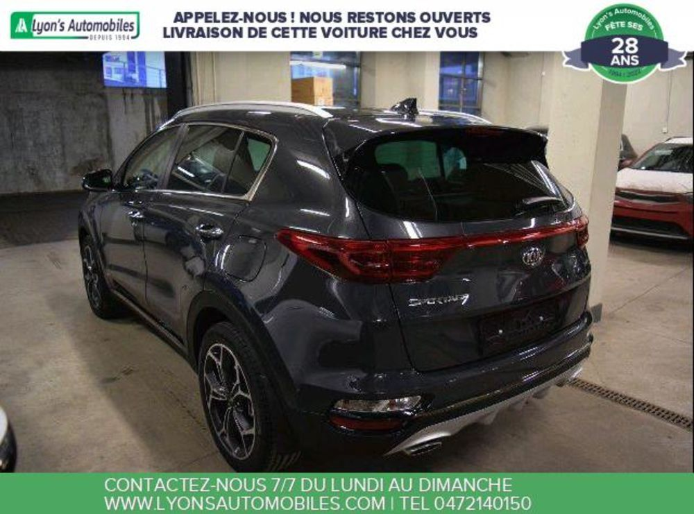 Sportage 2.0 CRDI HYBRIDE GT LINE 4X4 2020 occasion 69150 Décines-Charpieu
