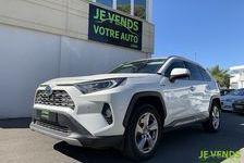 Toyota RAV 4 218 cv Hybride Lounge Garantie 2022 2019 occasion Saint-Jean-de-Védas 34430