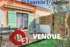 Maison T2 en vente à SAINT LAURENT D AIGOUZE 137000 Saint-Laurent-d'Aigouze (30220)