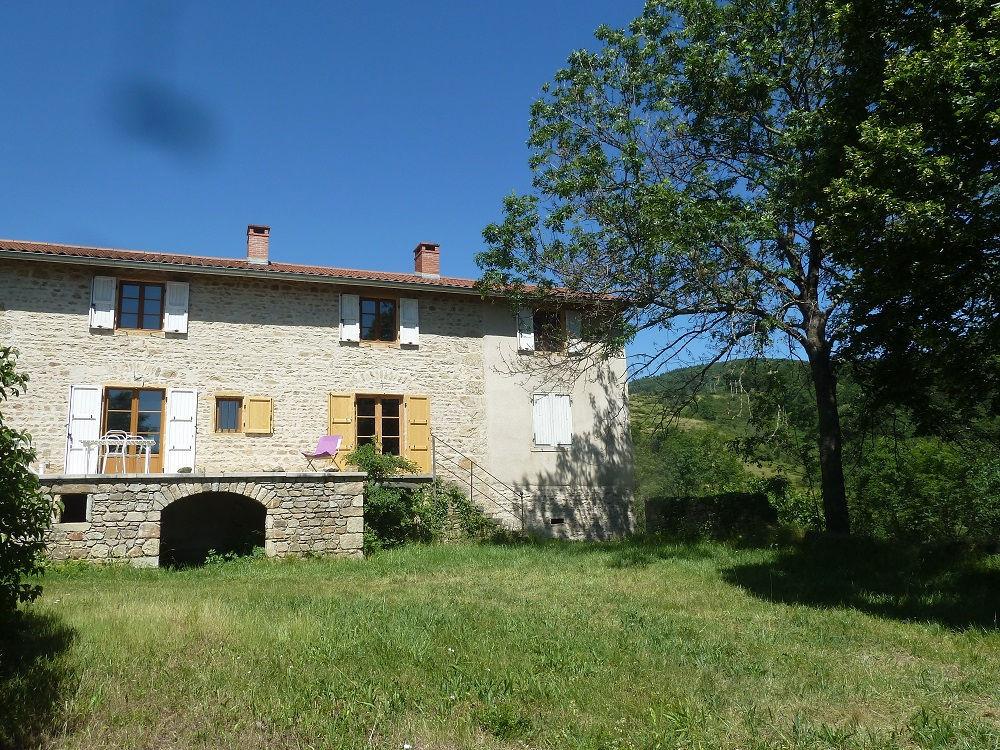 Vente Maison VAUGNERAY-OUEST LYONNAIS - ANCIEN CORPS DE FERME - 302 m² sur TERRAIN DE 2500 m²  à Vaugneray