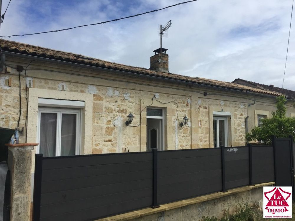 Vente Maison SAINT YZAN DE SOUDIAC Maison 72 m²  avec Garage  à Saint yzan de soudiac
