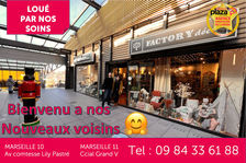 A LOUER Local commercial Marseille 13011 Grand V 146 m2 3057