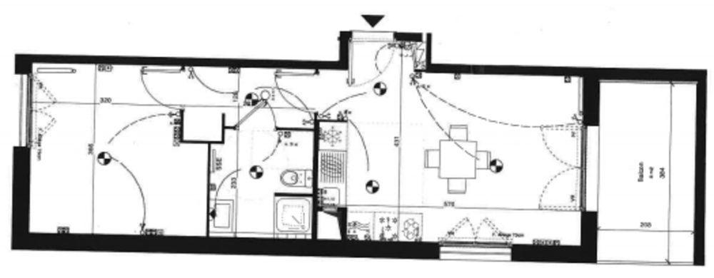 Location Appartement Appartement 2 Pièces - 43m² - Evry Centre  à Evry