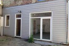 Local commercial Lomme 70 m² + garage + cour 790
