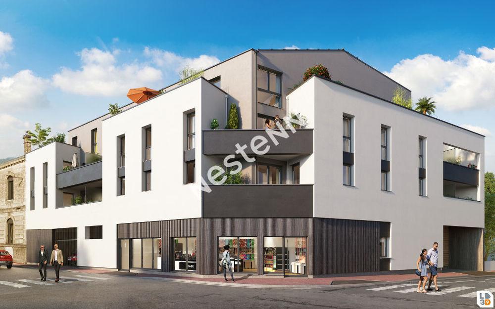 Vente Appartement Appartement Bègles 4 pièces 88.46 m2 avec Terrasse de 42 m2  à Begles