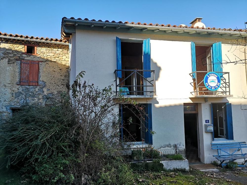 Vente Maison Maison de village avec étage 6 pièce(s) 102 m2  à Ferrieres sur ariege