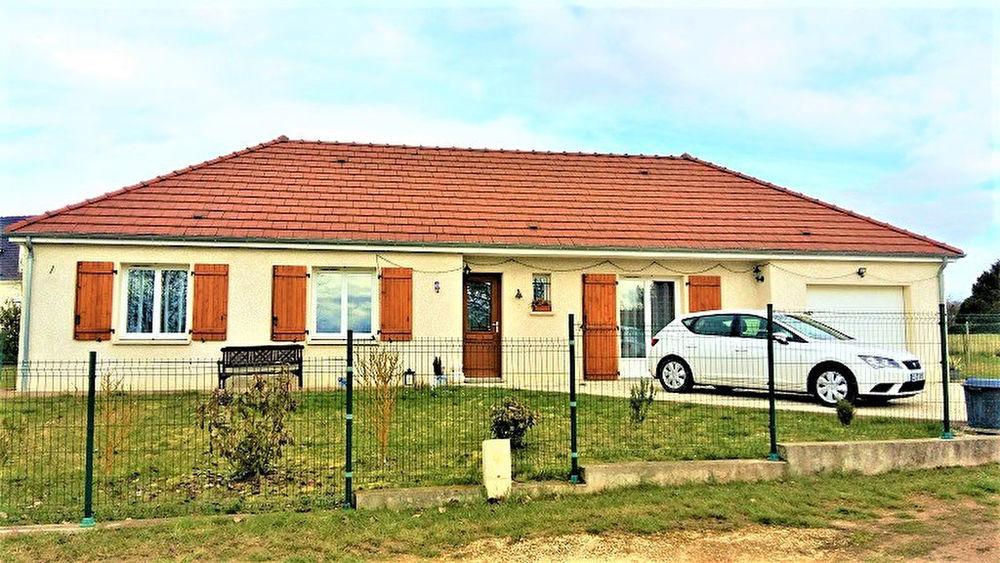 Vente Maison a vendre COSNE , à 2 mn Pavillon de plain pied, 3 chambres, garage  à Cosne cours sur loire