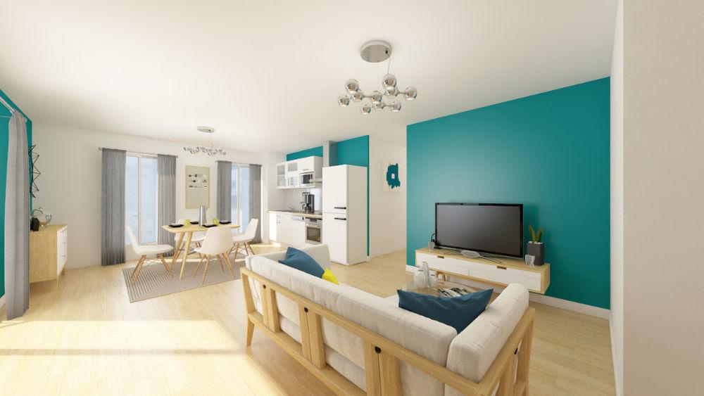 Vente Appartement Appartement Givors 4 pièce(s) 91.38 m2  à Givors