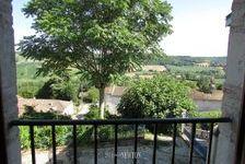 Quercy - Lauzere - Maison Au Village Avec 2 Chambres, Jardin Et Belle Vues 198550 Lauzerte (82110)