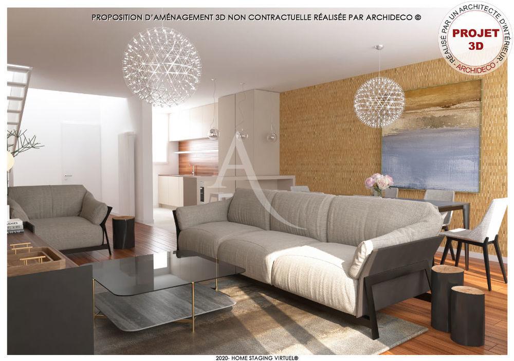 Vente Appartement Duplex lumineux secteur centre ville  à Meaux