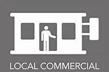Local Commercial 55m² avec garage 60m² 40500