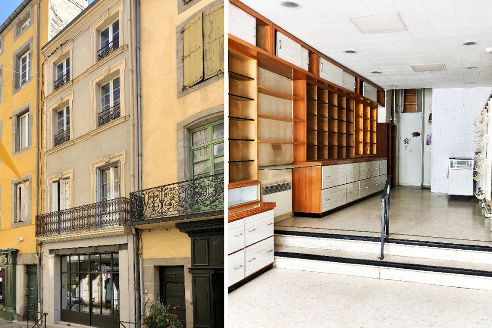 Vente Immeuble BASTIDE CARCASSONNE - Immeuble comprenant local commercial + appartement T4  à Carcassonne