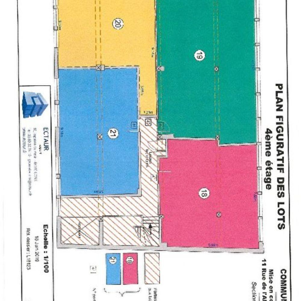 Vente Appartement Plateau lot N°20 et 21 de 98.60 m2 secteur St Joseph  à Pau