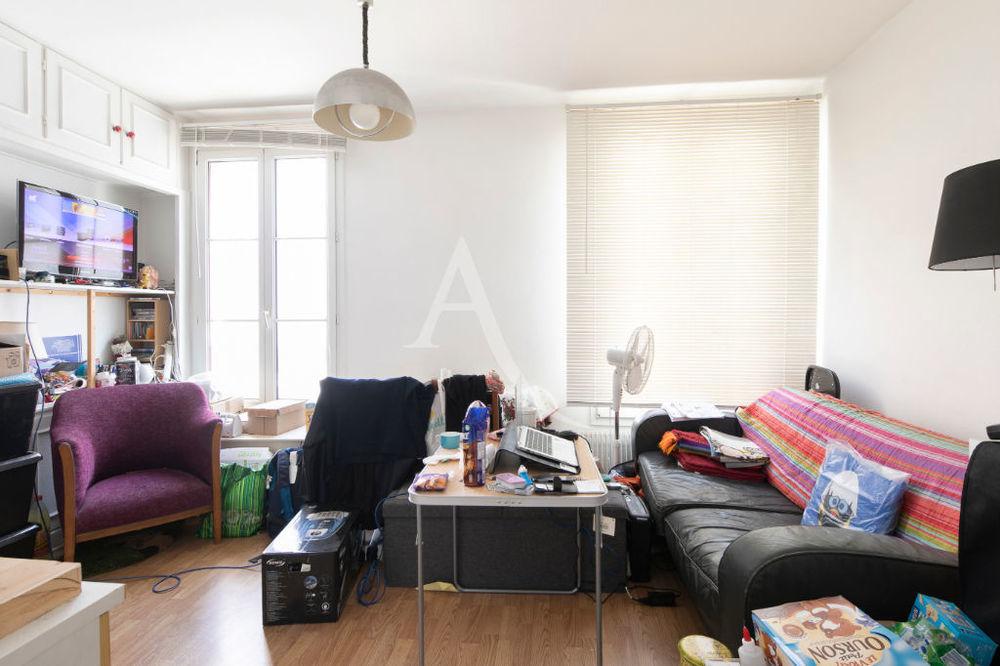 Vente Appartement 3 pieces près du canal de l'Ourcq Paris 19