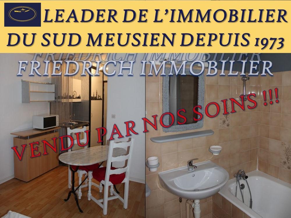 Vente Appartement STUDIO MEUBLÉ RENOVÉ  CENTRE-VILLE  IDÉAL INVESTISSEMENT LOCATIF - LIGNY-EN-BARROIS  à Ligny en barrois