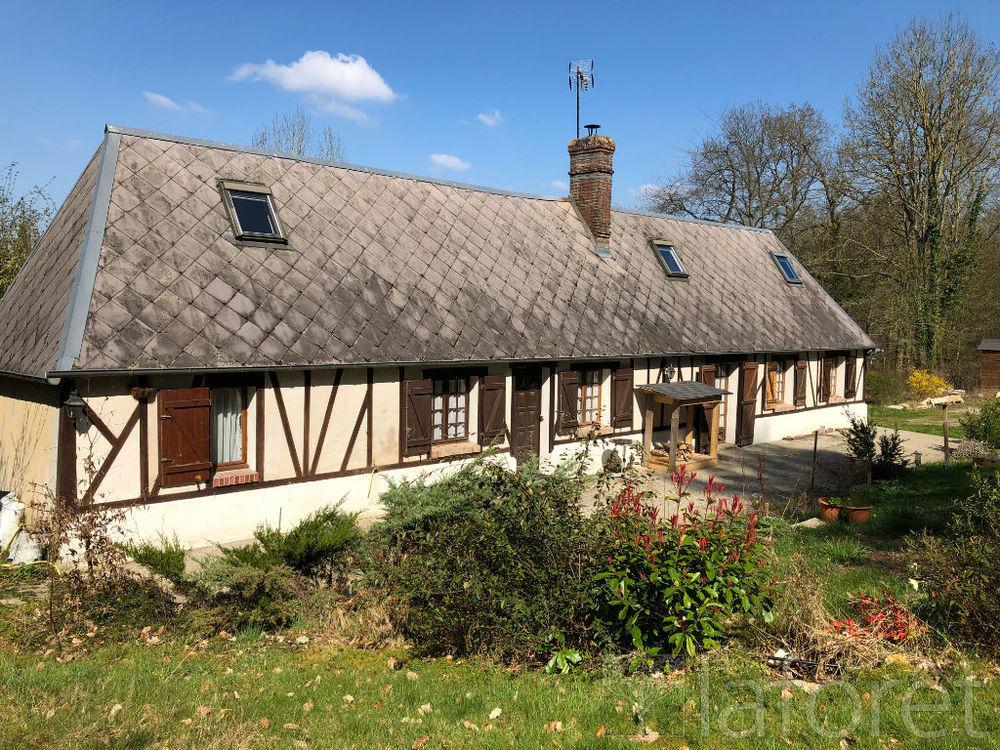 Vente Maison Longère normande en lisière de forêt 4 pièce(s) 92 m2  à Bernay