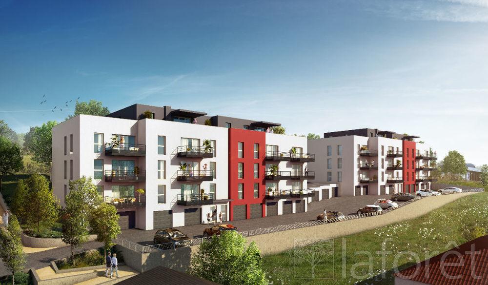 Vente Appartement VESOUL : Appartement T3 de 61.51 m2 avec terrasse.  à Vesoul