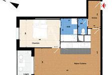 Appartement Meaux 2 pièce(s) 49.64 m2 739 Meaux (77100)