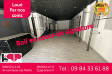 A louer Local commercial Marseille 13011 Grand V 91 m² 2350