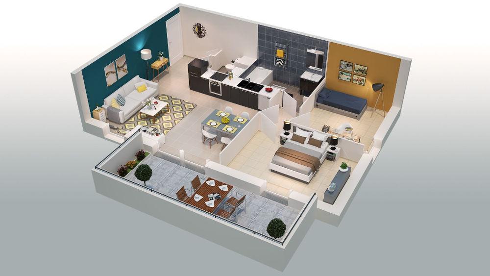 Vente Appartement Appartement de standing T3 69 m²  à Orange