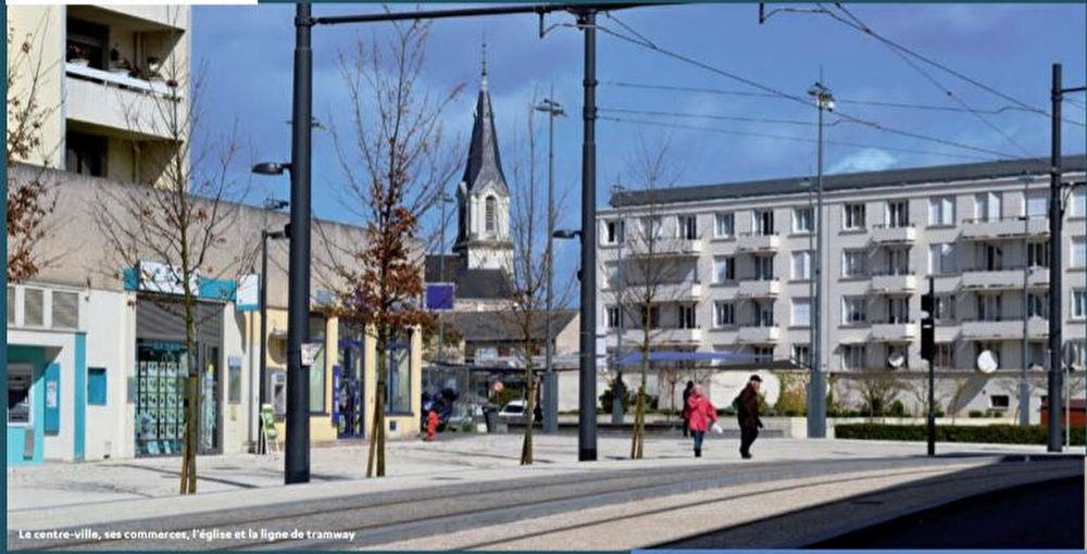 Vente Appartement JOUE  CENTRE  - T3 pièce(s) 58.44 m2  au 3ème Étage + LOGGIA 4.83 m² + Parking intérieur  à Joue les tours